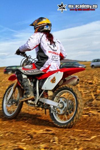 Motocross Enduro Dirtbike Fahren Mx Academy Motocross Frauen
