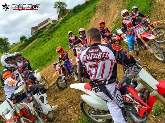 Motocross Training in der MX-Academy